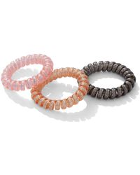 New York & Company - 3-piece Glittering Hair Accessory Set - Lyst
