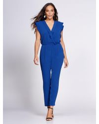 7ef1f0a238 New York   Company - Wrap Jumpsuit - Gabrielle Union Collection - Lyst