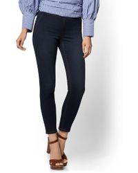 New York & Company - Soho Jeans - High-waist Pull-on Ankle Legging - Rinse Wash - Lyst