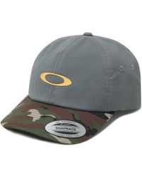more photos 0f1c6 2f918 Oakley - 6 Panel Military Hat - Lyst