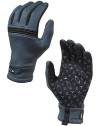 Oakley - Dark Slate Diamondback Fleece Glove - Lyst