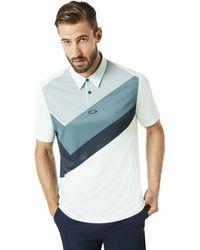 Oakley - Polo Shirt Ss Placed Collar Block - Lyst