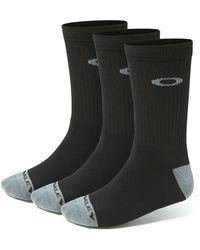 Oakley - Performance Basic Crew Socks (3 Pack) - Lyst