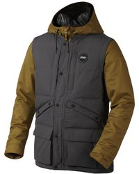 Oakley - Forged Iron Black Forest Biozone&trade Down Jacket - Lyst