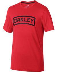 Oakley - O-tab Tee - Lyst
