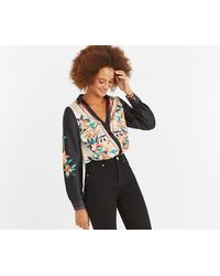 Oasis - Blake Scarf Placement Body - Lyst
