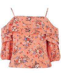 Oasis Fifi Floral Bardot Top