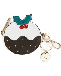Oasis - Christmas Pudding Coin Purse - Lyst