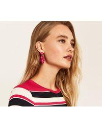 Oasis - Resin Statement Earrings - Lyst