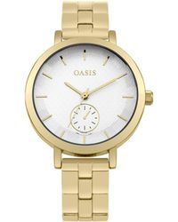Oasis - Bracelet With Matt Dial - Lyst