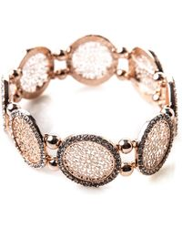 Oasis - Filigree Stretch Bracelet - Lyst