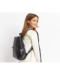 Oasis - Leather Backpack - Lyst