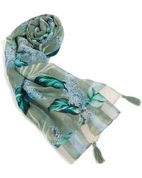 Oasis - Tropical Square Scarf - Lyst
