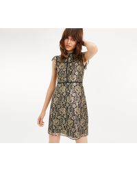 0ad2183c5a Oasis Animal Print Dress in Natural - Lyst