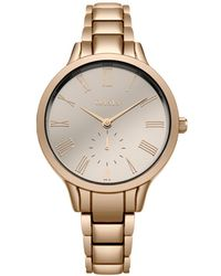 Oasis - Rose Gold Bracelet Watch - Lyst