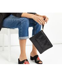 Oasis - Leather Clutch - Lyst