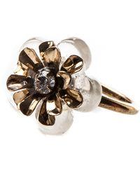 Oasis - Resin Flower Ring - Lyst
