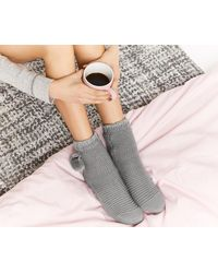 Oasis - Chunky Knit Cosy Socks - Lyst