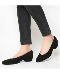 Office - My Girl Block Heel Courts - Lyst