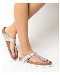 Birkenstock - Toe Thong Footbed - Lyst