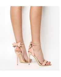 Office - Helena Bow Back Sandal - Lyst