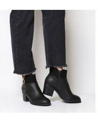 Office - Amara- Zip Detail Ankle Boot - Lyst