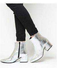 Vagabond - Olivia Block Heel Boot - Lyst