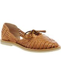 Chamula - Merida Lace Sandals - Lyst
