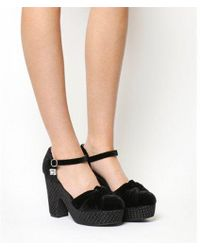 Miss L-fire - Lila Wedge Heel - Lyst