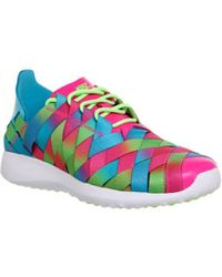 Lyst - Nike Juvenate Woven Premium Sneakers With Leather - Multicolor e7d69d7ccf