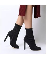 Office - Azul- Sock Boot - Lyst