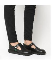 Kickers - Kick Lo Aztec Black Shoes - Lyst