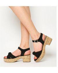 Office - Magnolia Demi Flatform Sandal - Lyst
