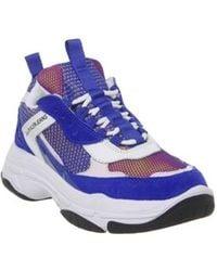 Calvin Klein - Panelled Low-top Sneakers - Lyst