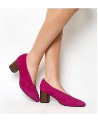 7464695cb7c Lyst - Vagabond Vagabond Saide Suede Sandal in Purple