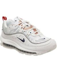 11f91009b5 Nike Air Max 98 'fossil' Women's in White - Lyst