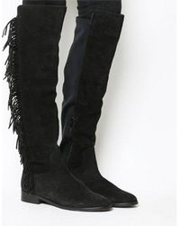 Office - Erin Stretch Back Boot - Lyst