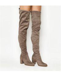 Office - Ka Pow Block Heel Over The Knee Boots - Lyst