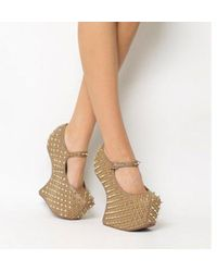 Jeffrey Campbell - Prickly Wedge - Lyst