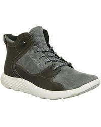 cbbc16a6f91 Timberland Flyroam Leather Hiker Boots in Black for Men - Lyst