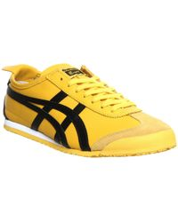 Onitsuka Tiger | Dl408 Mexico 66 Men's Shoes (trainers) In Yellow | Lyst