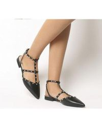 Office - Figtree- Studded Point Flat - Lyst