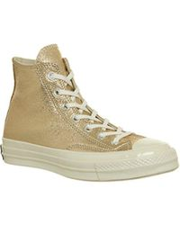 57ee9be09433 Lyst - Converse The Chuck Taylor All Star Hi Sneaker in Nectarine in ...