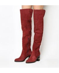 Office - Elemental Over The Knee Boots - Lyst