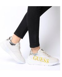 Guess - Milez Logo Trainer - Lyst
