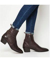 Office - Auburn- High Cut Unlined Boot - Lyst