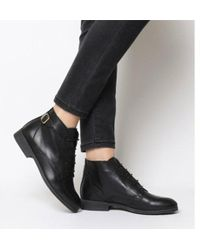 Office - Angelica- Vintage Lace Up Boot - Lyst