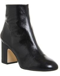 Office - Laughter Block Heel Ankle Boot - Lyst