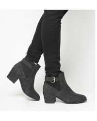Office - Audrey- Buckle Chelsea Boot - Lyst