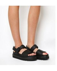 9e618ff2522e Dr. Martens Voss Sandals in Black - Lyst